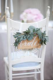 59 best chair decorations images on pinterest wedding chairs