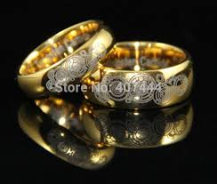 doctor who wedding ring aliexpress buy ygk jewelry 6mm 8mm golden domed doctor who