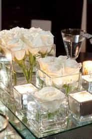 White Floral Arrangements Centerpieces by White Wedding At Montage Laguna Beach By Jasmine Star Simple