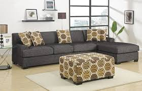 grey l shaped sofa bed grey fabric l shape sofa