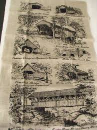 vintage kay dee 100 pure linen tea towel by scrappantry on zibbet