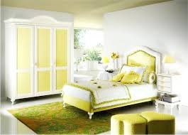 yellow and white bedroom excellent wall color blue gallery wall art design
