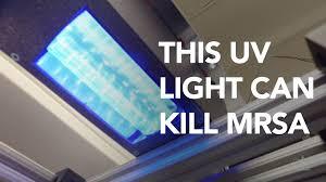 uv light to kill germs narrow range of uv safely kills drug resistant bacteria youtube