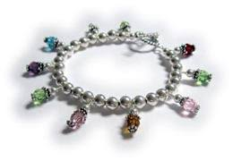 birthstone charm bracelet for mothers day charm bracelets photo bracelet birthstone