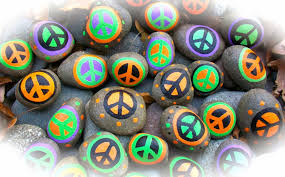 picture of happy halloween peace rocks happy halloween
