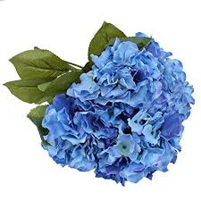 silk hydrangea luyue 5 big heads artificial silk hydrangea bouquet