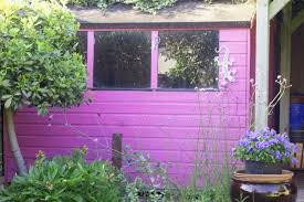 what colour should i paint my shed the middle sized garden