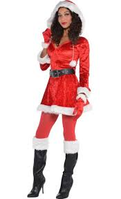 santa costumes women s santa costume party city