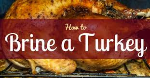 turkey brine seasoning turkey brine recipes