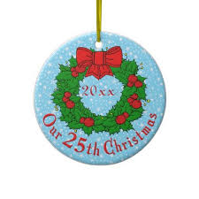 anniversary christmas ornament 16 best 25th anniversary christmas ornaments images on