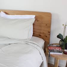 100 pure french linen sheet set in natural flax queen size