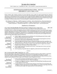 resume exles for executives retail executive resume exle sle resume executive resume