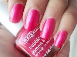 diva u0027s diary crayola bubblegum nail polish swatch and review