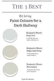 Light Gray Paint by The 3 Best Not Boring Paint Colours To Brighten Up A Dark Hallway