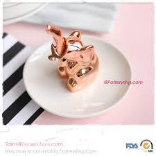 ceramic elephant ring holder images Jewelry holders home d cor jpg