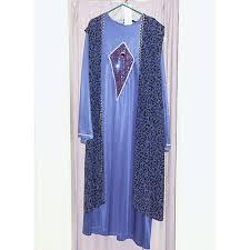 men s blue black wizard robe costume 68 world of dance uk