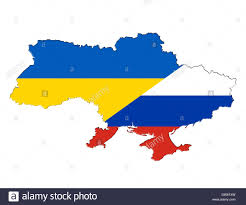 Map Ukraine Ukraine Russia Map Stock Photos U0026 Ukraine Russia Map Stock Images