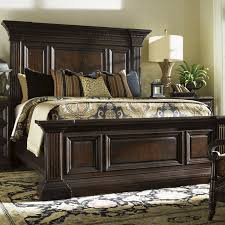 Tommy Bahama Home Island Traditions Panel Bed  Reviews Wayfair - Bedroom island