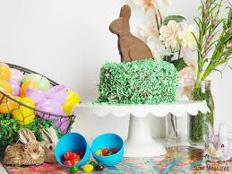 personalized easter eggs personalized easter hunt puzzle and chocolate easter bunny cake