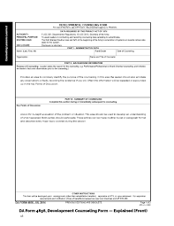 Da Form 4856 Initial Counseling Fillable Collection Of Marine Counseling Worksheet Cockpito