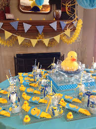 duck decorations ducky baby shower ideas table decor baby shower ideas gallery