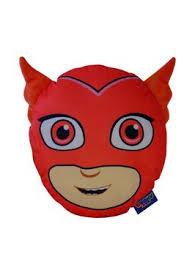 pj masks owlette pyjama case cushion littlewoodsireland