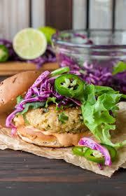 how to make sriracha mayo spicy chickpea veggie burgers with jalapeño and zucchini peas