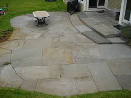 Large Pavers For Patio Blue Patio Construction In Westchester County Ny This