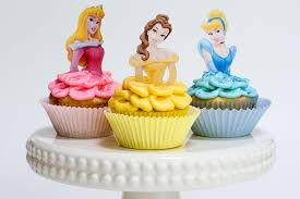 cinderella cupcake toppers disney princess cupcakes with sprinkles on top