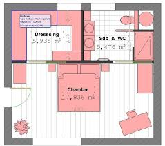 plan chambre a coucher stunning modele de chambre a coucher avec dressing et salle de bain