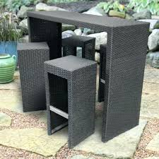 patio ideas bar style patio furniture sets traditional outdoor