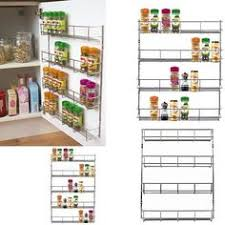 Spice Rack Door Mounted Pantry Spice Rack On Inside Of Pantry Doors Ideas For The House