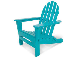 Recycled Plastic Furniture Polywood Classic Adirondack Recycled Plastic Chair Ad5030