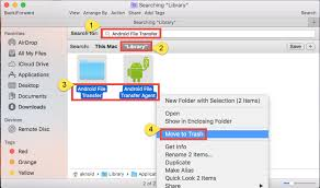 android file transfer for mac can t uninstall android file transfer check this tutorial