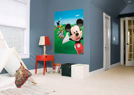 mickey mouse clubhouse mural wall decal shop fathead for mickey mickey mouse clubhouse fathead wall mural click to zoom