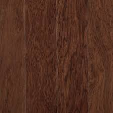 Portland Laminate Flooring Mohawk Portland Hickory Sable 3 4 In Thick X 5 In Wide X Random