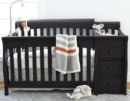 Mini Cribs Walmart Interior Cribs With Changing Table Solpool Info
