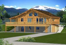 Walk Out Basement House Plans by Log Home Plans With Walkout Basement Home Design Inspirations