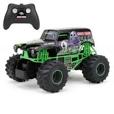 Cool Grave Digger Rc Remote Control Truck Monster Jam Toy