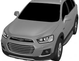 chevrolet captiva 2016 new chevrolet cuv leaked in patent drawing gm authority