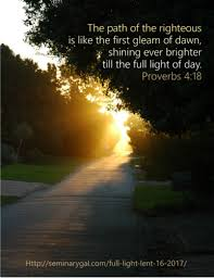 Light Of Dawn Full Light Lent 16 2017 Seminary Gal