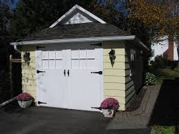 Decorative Garage Door Chi Carriage House Steel Garage Door Garage Traditional With
