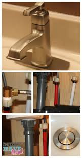 Bathroom Faucet Installation by Diy Bathroom Faucet Installation Step By Step How To Moen