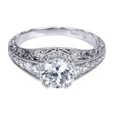 filigree engagement ring 18k white gold filigree diamond engagement ring wedding day diamonds