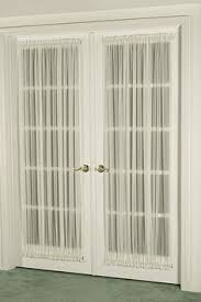 Blackout French Door Curtains This Is Not A Roman Shade Even Better No Cords And No Holes