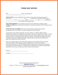 sle eviction notice late rent three day eviction notice form great maine day notice to terminate