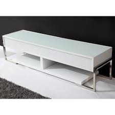 Modern White Tv Table Stand B Modern Bm 650 Awht Agent 71