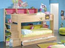 Parisot Thuka Beds High Tek  Childrens Black Bunk Bed Frame By - Funky bunk beds uk