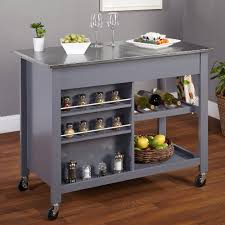 stainless steel kitchen island marvelous stainless steel top