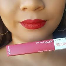 Maybelline Superstay Matte Ink maybelline matte ink voxbox review the journals